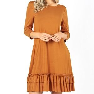 Piko long sleeve dress size S